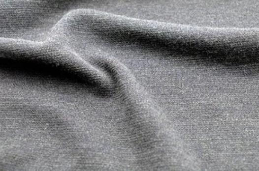 灰色布的細部照